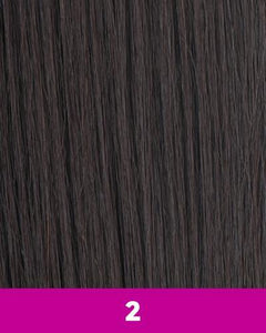 NEW BORN FREE SYNTHETIC HAIR HALF WIG ZAYDAY 6075F 2 Synthetic Hair Half Wigs