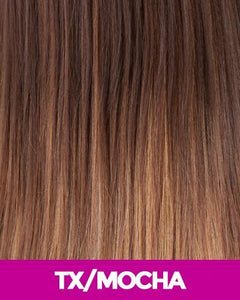 NEW BORN FREE SYNTHETIC HAIR WIG 14027 SONIA TX/MOCHA Synthetic Hair Wigs