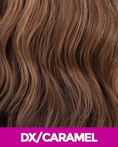 NEW BORN FREE SYNTHETIC HAIR WIG 3323 MIRA DX/CARAMEL Synthetic Hair Wigs