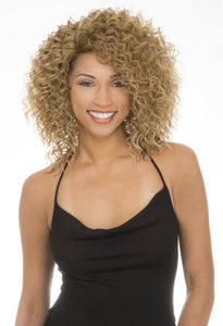 NEW BORN FREE SYNTHETIC HAIR WIG AMBER 4045 Synthetic Hair Wigs