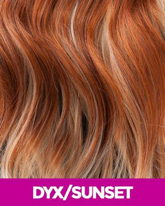 NEW BORN FREE SYNTHETIC HAIR WIG RONNIE 3327 DYX/SUNSET Synthetic Hair Wigs