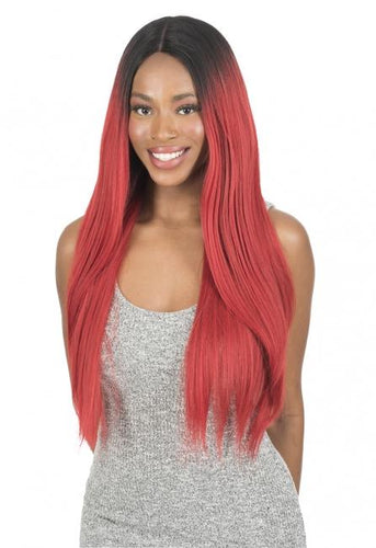 New Born Free Synthetic Lace Front Wig - Magic Lace 360 Frontal Straight 26- ML360S26 Synthetic Hair Lace Front Wigs