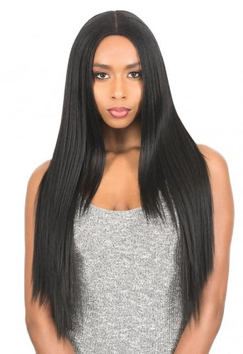 New Born Free Synthetic Lace Front Wig - Magic Lace Deep Part MLD07 Deep Part Wig