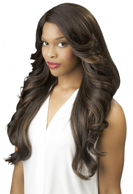 New Born Free Synthetic Lace Front Wig - SLIM LINE LACE PART WIG SLW16 Synthetic Hair Lace Front Wigs