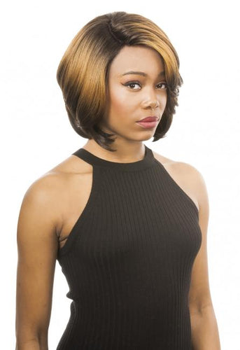New Born Free Synthetic Lace Front Wig - SLIM LINE LACE PART WIG SLW23 Synthetic Hair Lace Front Wigs