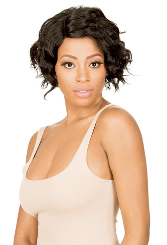 New Born Free Synthetic Lace Front Wig - SLIM LINE LACE PART WIG SLW27 Synthetic Hair Lace Front Wigs