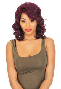 New Born Free Synthetic Lace Front Wig - SMART LACE PART - CTS126 Synthetic Hair Lace Front Wigs