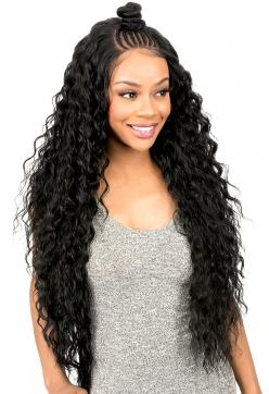 New Born Free Synthetic MAGIC LACE BRAID Lace Front Wig - MLB38 Synthetic Hair Lace Front Wigs