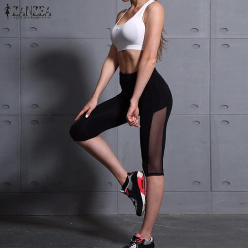 TOP SELLER! PATCHWORK FITNESS LEGGINGS WITH HIGH WAIST yoga pants