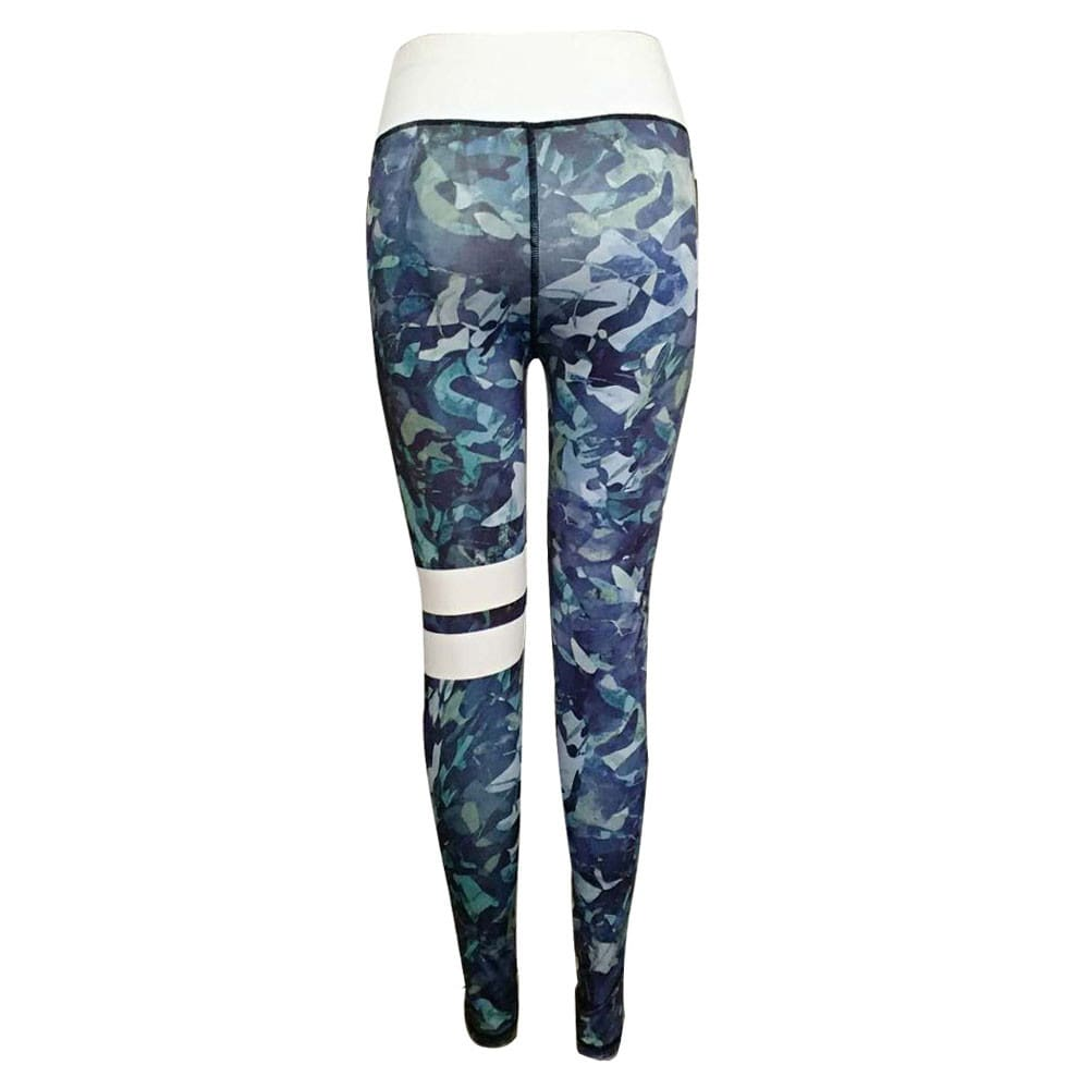 Womens High Waisted Sports Gym Yoga Running Fitness Leggings