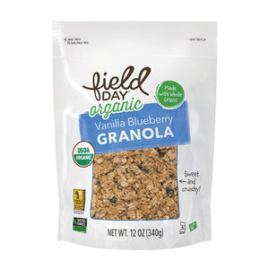 Field Day Organic Vanilla Granola - Case of 6 - 12 oz.