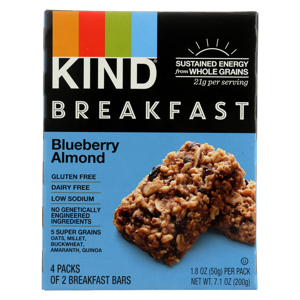 Kind Blueberry Almond - Case of 8 - 1.8 oz.