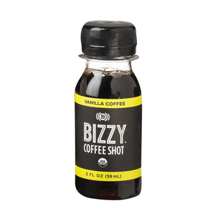 Bizzy Coffee Shot - Vanilla - Case of 6 - 2 fl oz