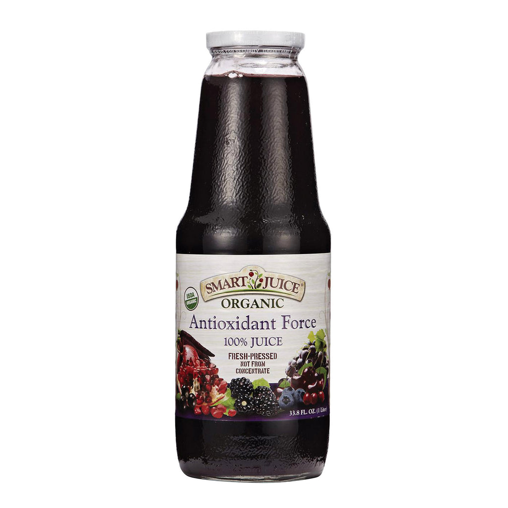 Smart Juice Organic Antioxidant Force - Case of 6 - 33.8 Fl oz.