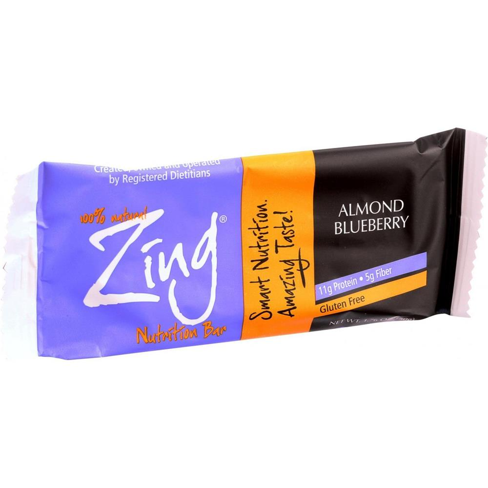 Zing Bars - Almond Blueberry Bars ( 12 - 1.76 OZ)