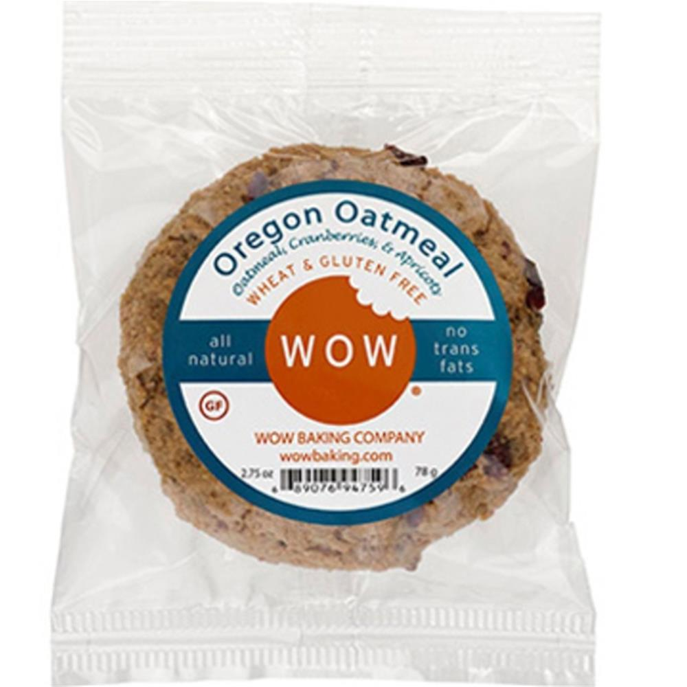 WOW Baking - Oatmeal Single Cookies ( 12 - 2.75 oz boxes)