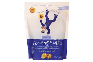Somersaults - Pacific Seasalt Sunflower Nuggets ( 6 - 6 oz bags)