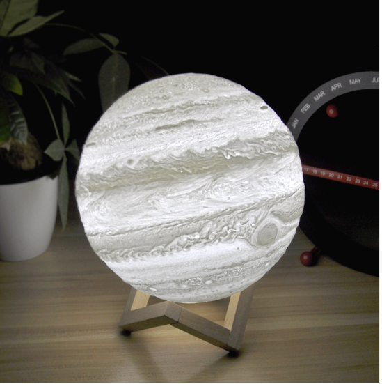 Jupiter moon lamp