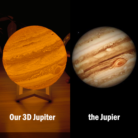 Jupiter Moon Lamp -NEW!