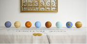 Planet Lamp Collection - Solar System, 8cm each.