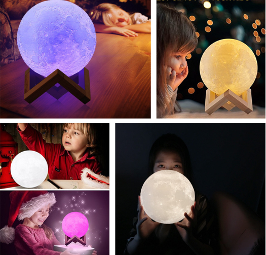 Moon Lamp -Original Multi-Color With Remote