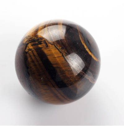 Tiger Eye- Petrified Wood Crystal