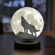 Custom Moon lamp 3D printed