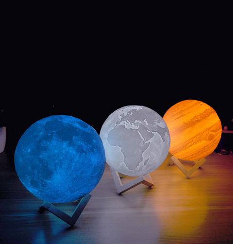 The Earth Space Lamp