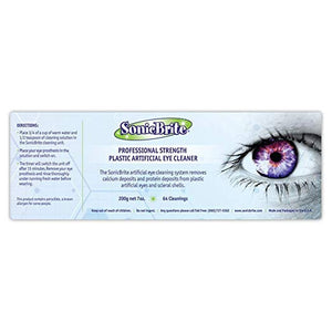 Professional Strength Plastic Artificial Eye Cleaner