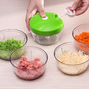 Multifunctional Nicer Dicer Plus Speedy Chopper