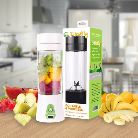 O'Healthy Portable & Wireless USB Juicer Blender