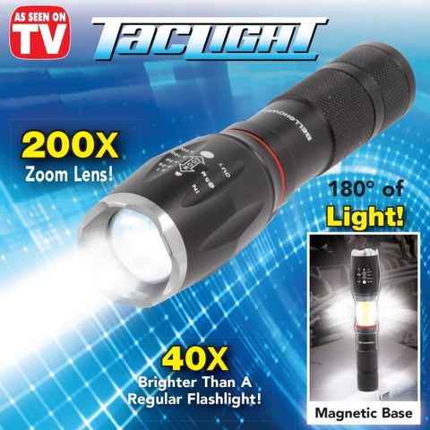 TacLight™ High-Powered Tactical Flashlight (BUY 1 TAKE 1)