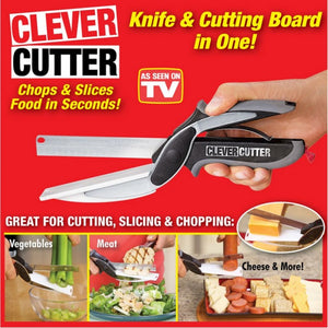 Clever Cutter 2-in-1 Knife & Cutting Board (BUY 1 TAKE 1)