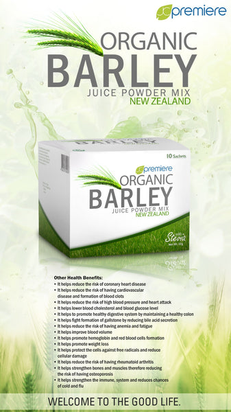 Organic Barley Juice (New Zealand)