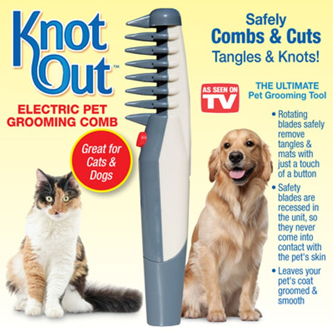 Knot Out™ Pet Grooming Comb