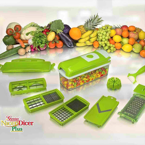 All-in-One Nicer Dicer Plus Multi-Chopper Slicer & Dicer