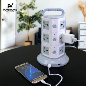 Powerhouse Voyager Anti-Static Tower Charging Station