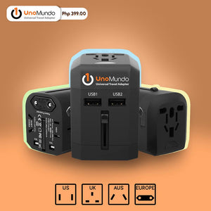 UnoMundo Universal Travel Adapter