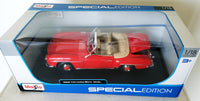 1955 Mercedes-Benz 190SL 1:18 Scale Diecast Model by Maisto - ardens toys