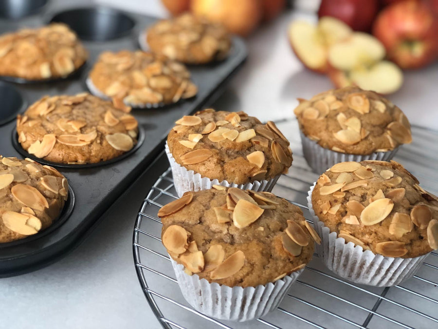 Apple Almond Muffins Box - 12 pieces