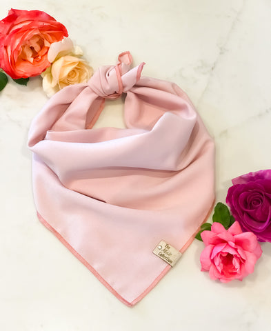 Blushing Beauty Satin Bandana - The Moxie Collection