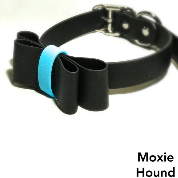 BioBows Collection™ Black 1 inch Collar - The Moxie Collection