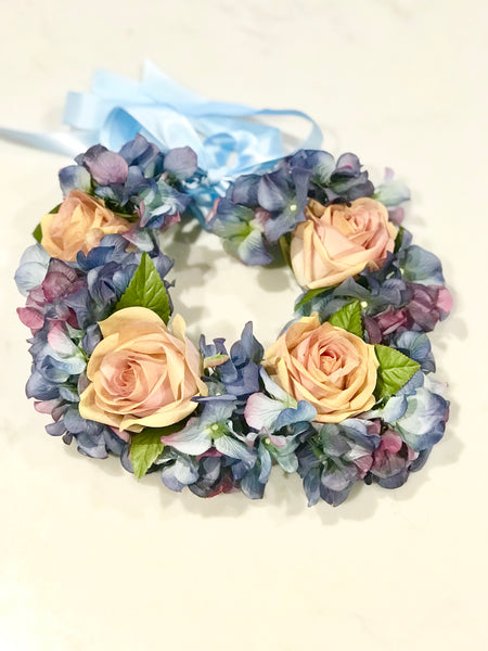 Hydrangea Flower Crown - The Moxie Collection