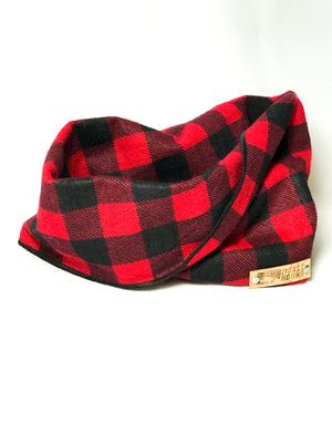 Buffalo Plaid Infinity Scarf - The Moxie Collection