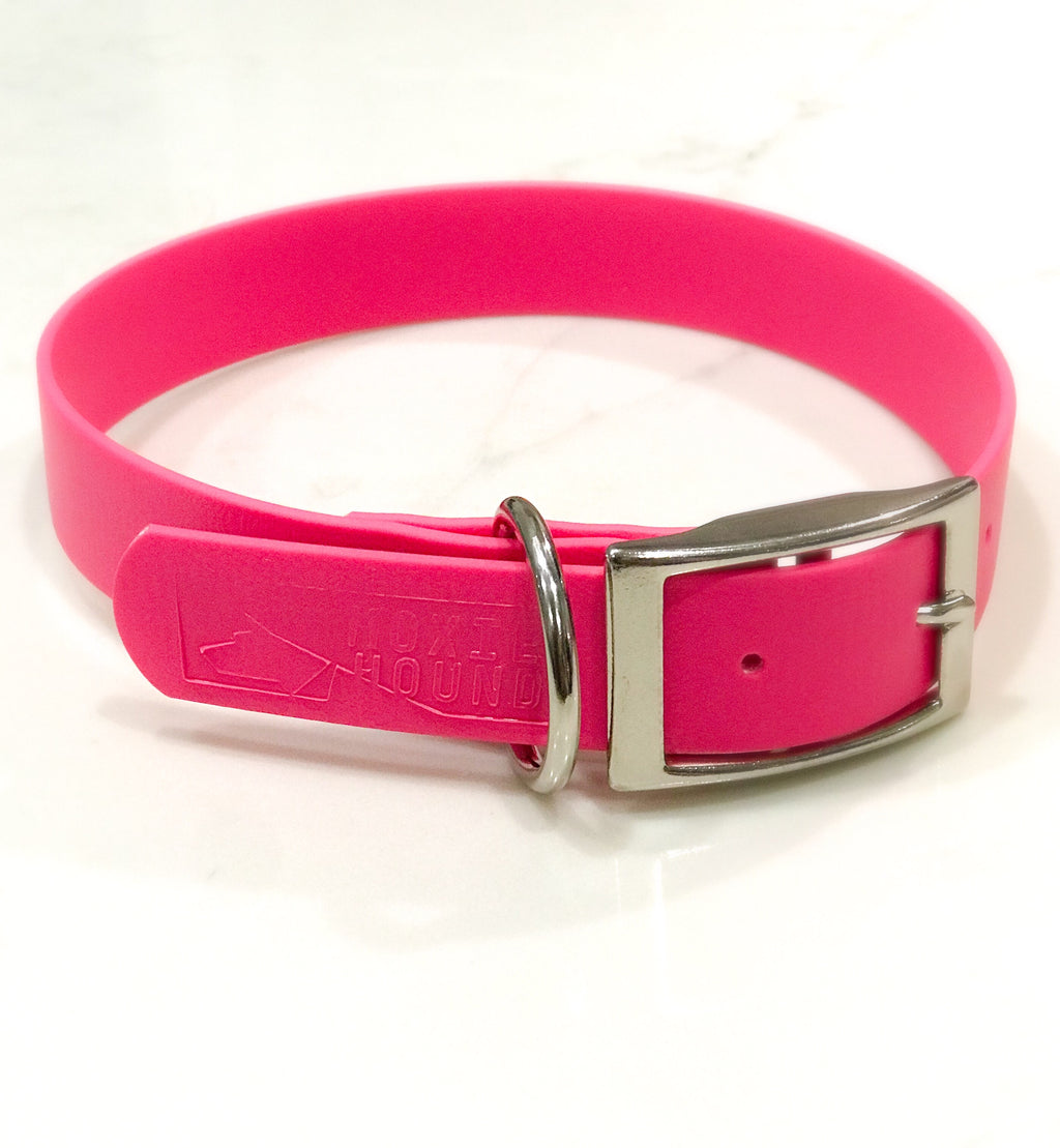 Intertidal Collection™ Pink 1 inch Collar - The Moxie Collection