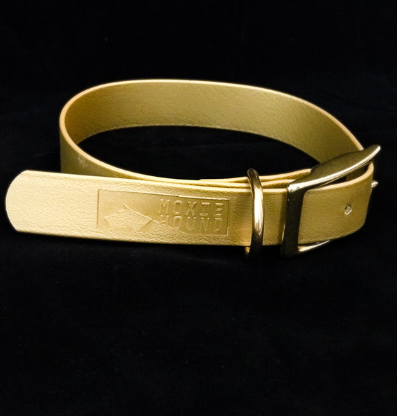 Intertidal Collection™ Gold 1 inch Collar - The Moxie Collection
