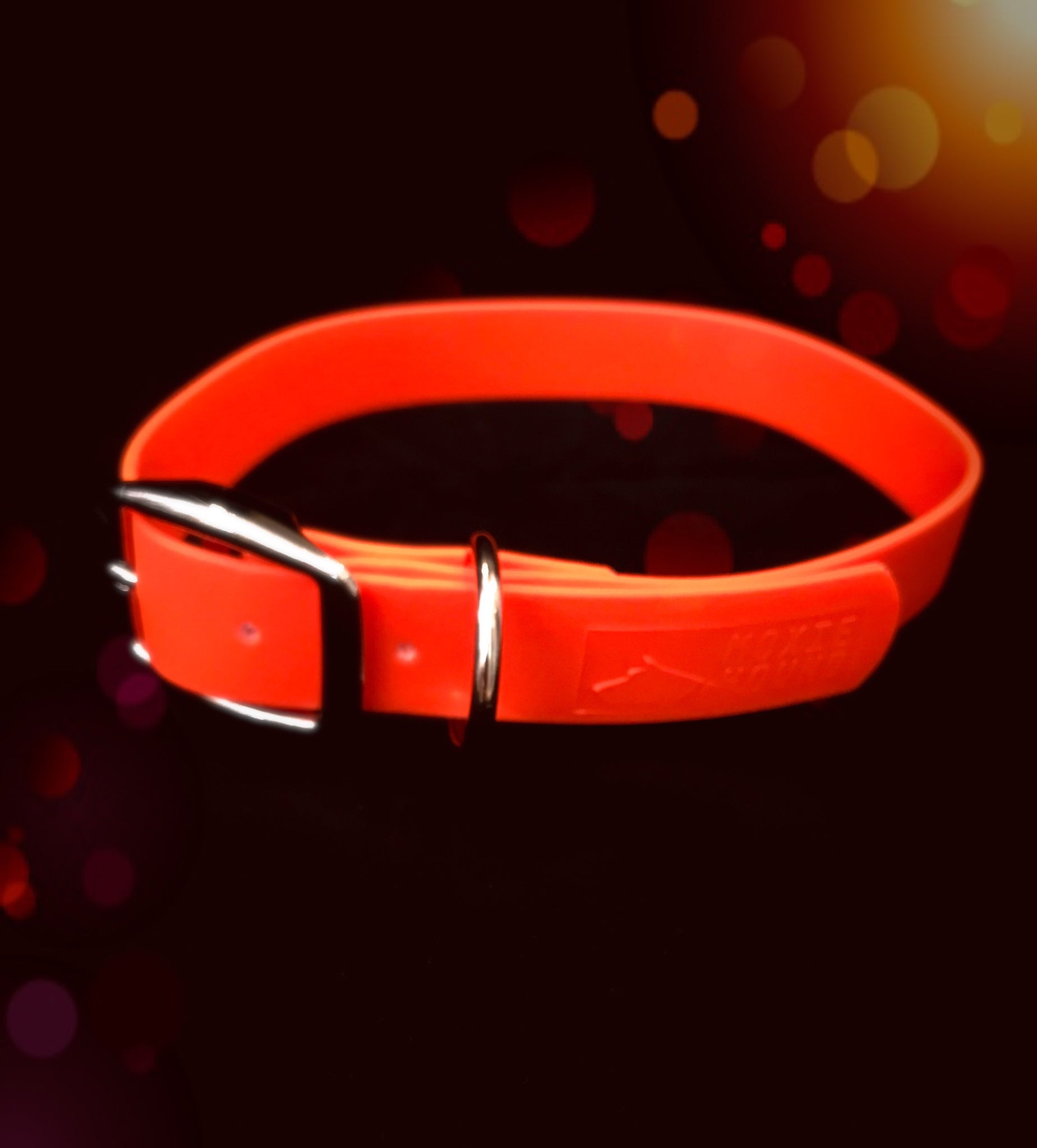 Intertidal Collection™ Orange 1 inch Collar - The Moxie Collection