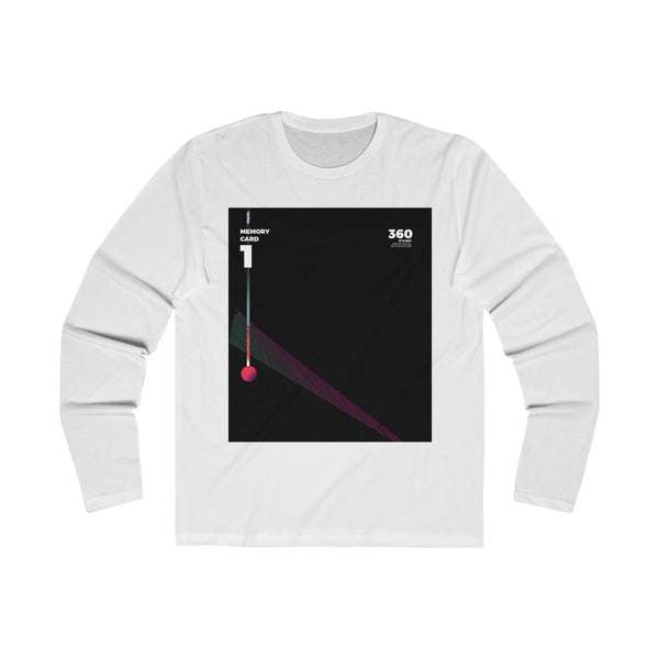 Memory Card Long Sleeve Crew Tee