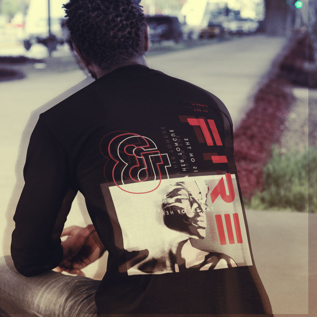 Streets On Fire Long Sleeve Crew Tee