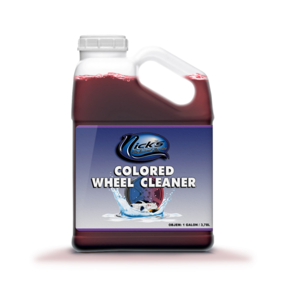 Colored Wheel Cleaner (1 Gallon)